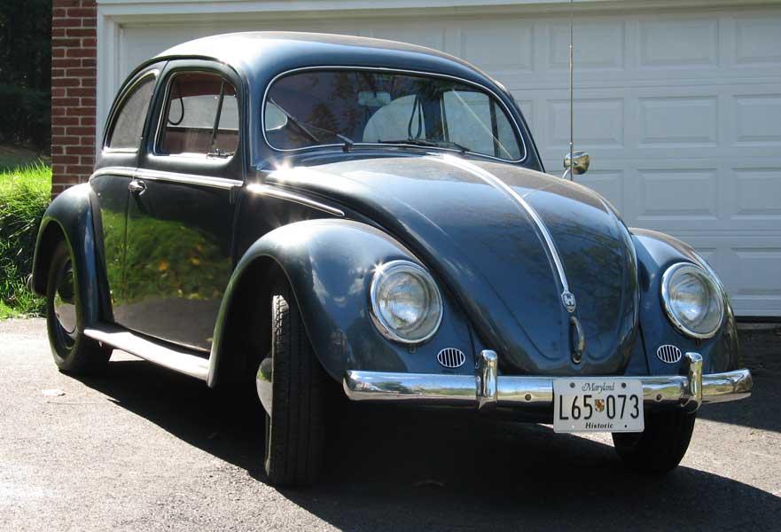 1955 VW Beetle (Hanson Mechanical Collection)